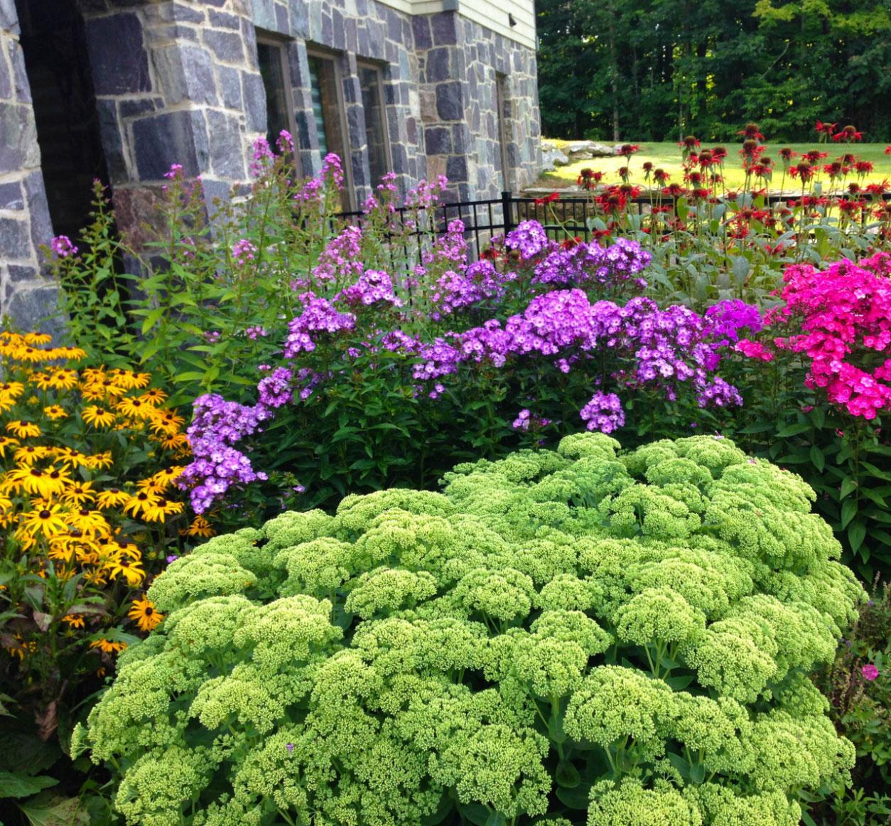Bright Garden | Andrew Zema's Landscaping & Excavating - Berkshire County, Columbia County, Rensselaer County