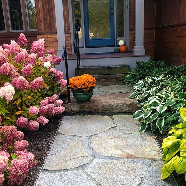 Front Garden | Andrew Zema's Landscaping & Excavating - Berkshire County, Columbia County, Rensselaer County