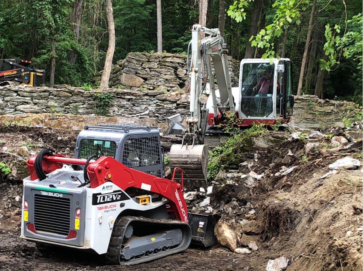 Excavation   Andrew Zema's Landscaping & Excavating - Berkshire County, Columbia County, Rensselaer County