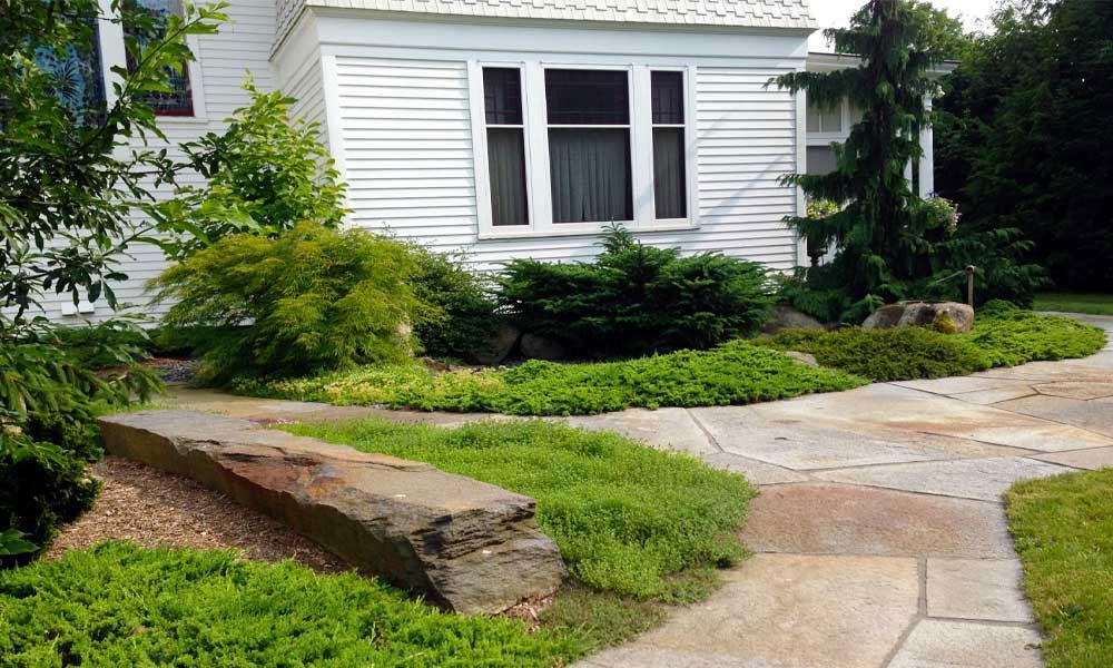 Stone Path   Andrew Zema's Landscaping & Excavating - Berkshire County, Columbia County, Rensselaer County