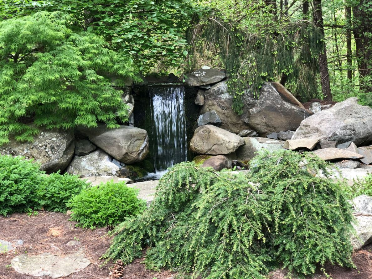 Waterfall   Andrew Zema's Landscaping & Excavating - Berkshire County, Columbia County, Rensselaer County