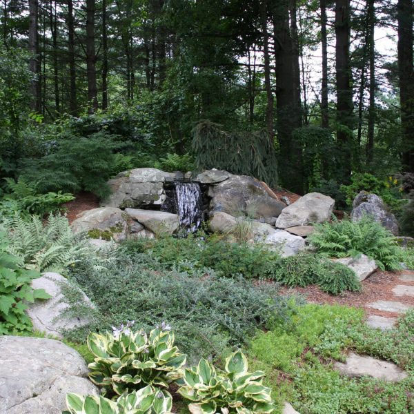 Japanese Garden Waterfall | Andrew Zema's Landscaping & Excavating - Berkshire County, Columbia County, Rensselaer County