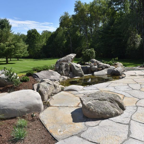 Stone Patio | Andrew Zema's Landscaping & Excavating - Berkshire County, Columbia County, Rensselaer County